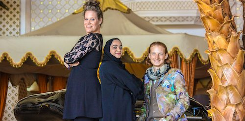 Dust of Soul's new Musical Show with Poetry Reading by Lubna Al Balushi