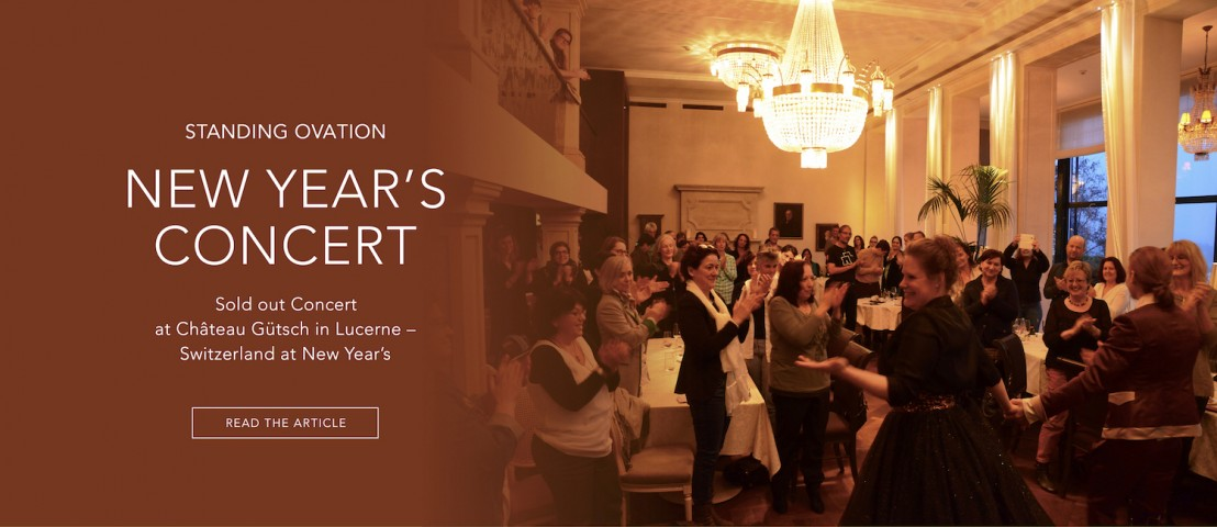 Dust of Soul New Year's Concert sold-out with standing ovation at Château Gütsch in Lucerne – Switzerland