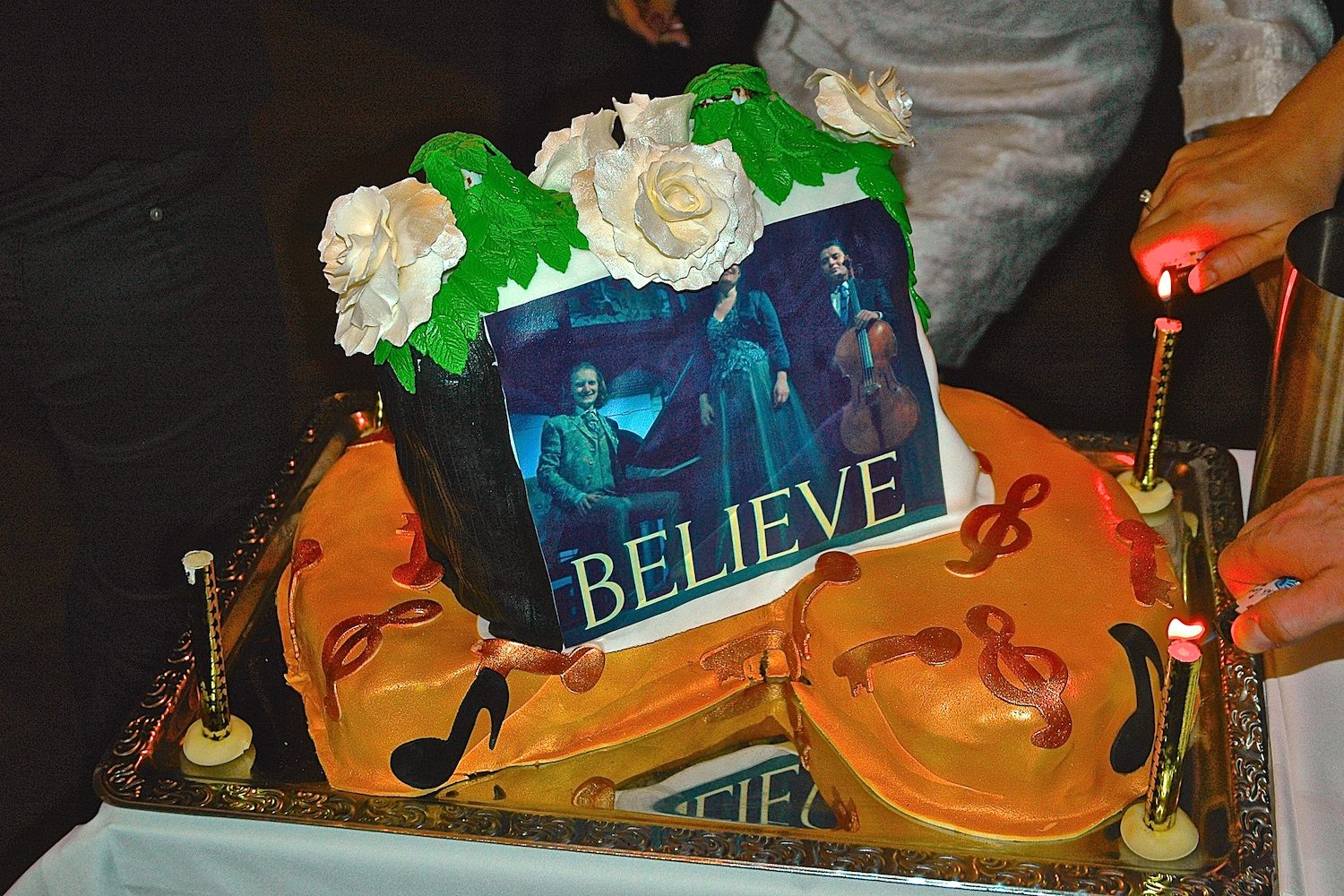 Cake for CD release concert