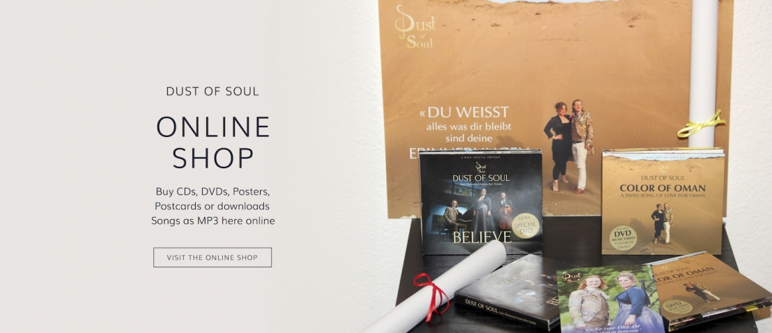 Buy CDs, DVDs, Posters, Postcards or downloads Songs as MP3 here in the Dust of Soul Online Shop