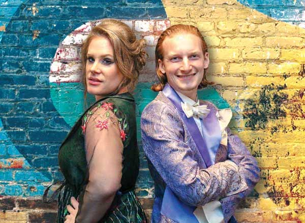 Schweizer 'Opera Pop'-Musikerduo Dust of Soul an der Victory Music Night