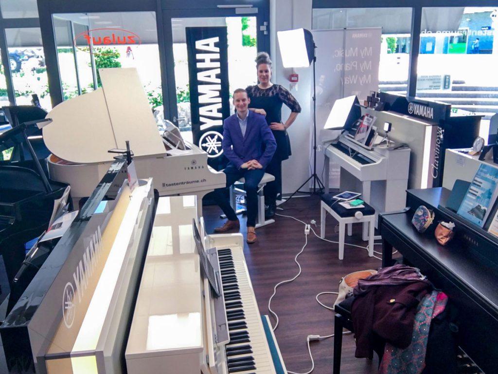 Live Video Session im Musikgeschäft A-Zulauf Musikinstrumente GmbH