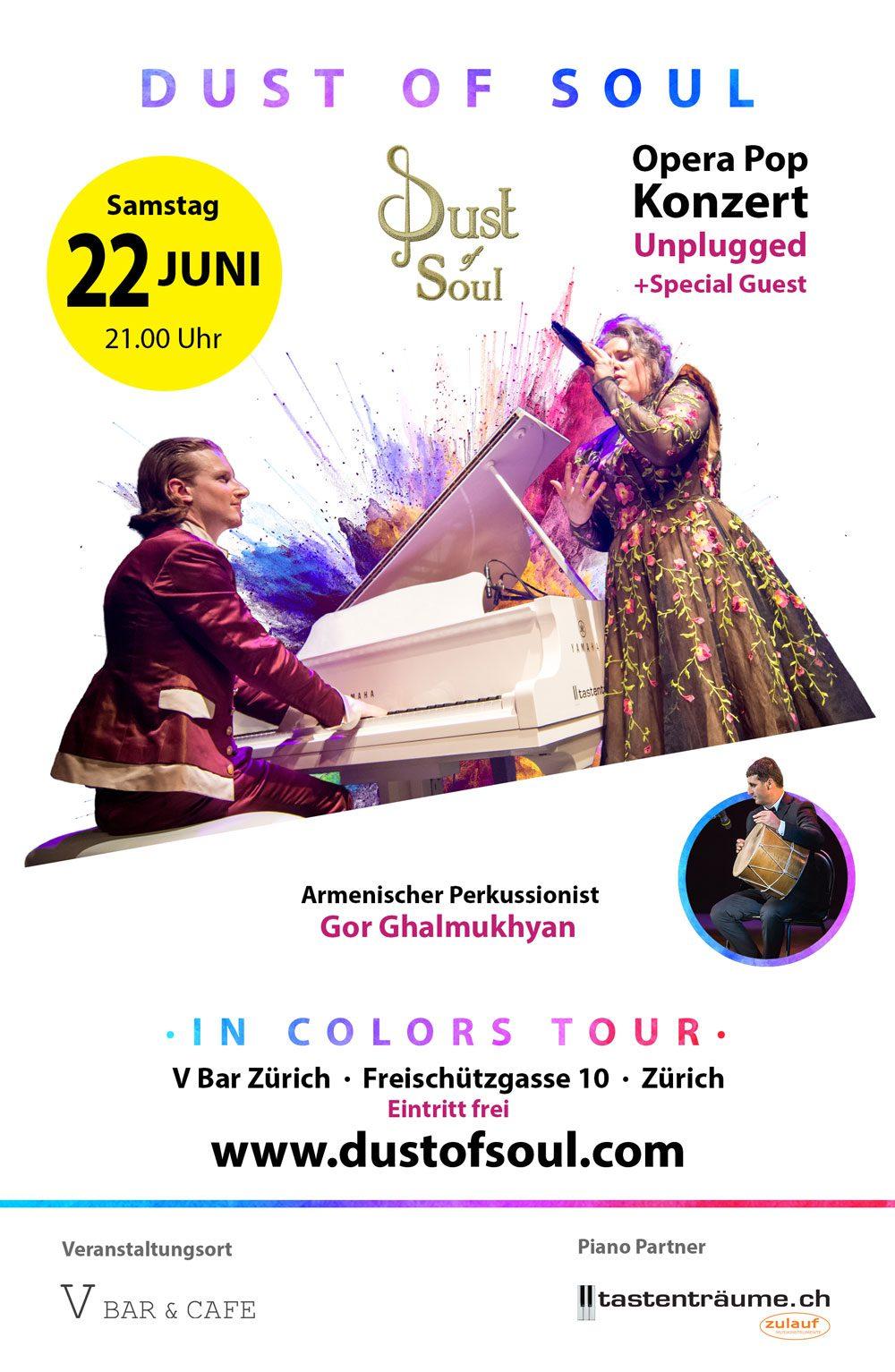 Unplugged Konzert mit Special Guest