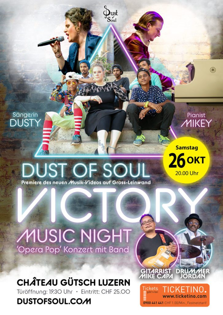 Dust of Soul's Victory Music Night im Château Gütsch Luzern