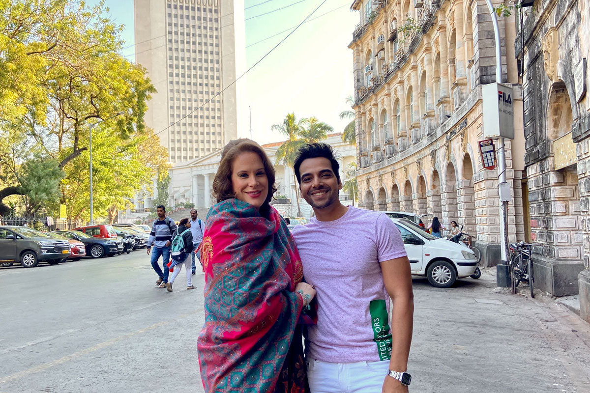 Schweizer Künstler mit zwei Musikvideo-Dreharbeiten in Mumbai, Indien