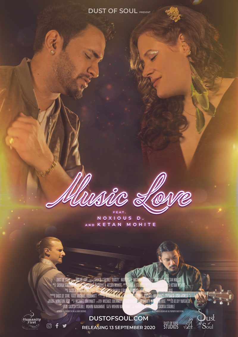 Dust of Soul Music Love Poster