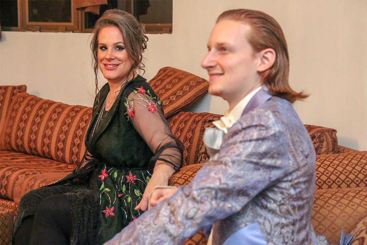 2020 Oman Nationaltages-Feier mit Schweizer Liebessong