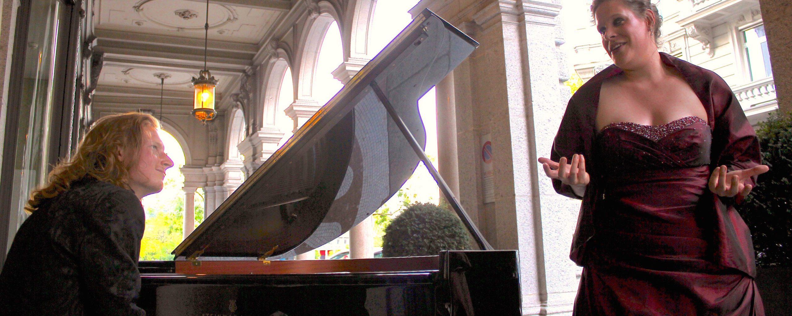 Concert under the Arcades in Zurich