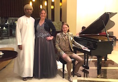 Dust of Soul Private Concert at the City Seasons Hotel in Muscat (April 2016)