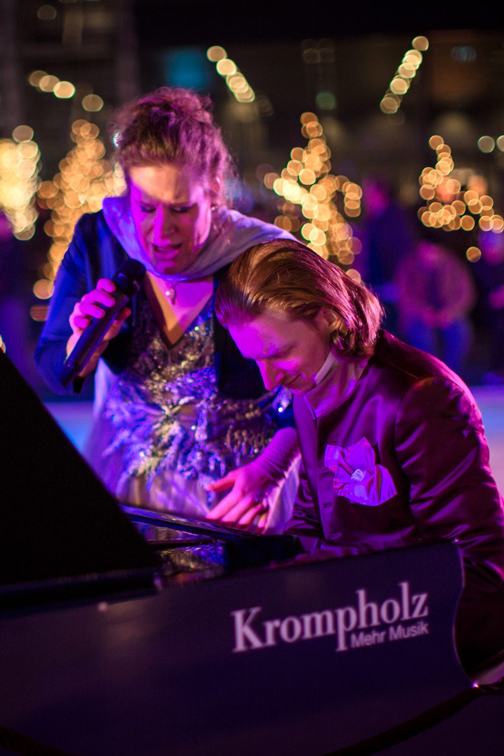 «Dust of Soul on Ice» Konzert am «Live on Ice» vom 16. Dezember 2016