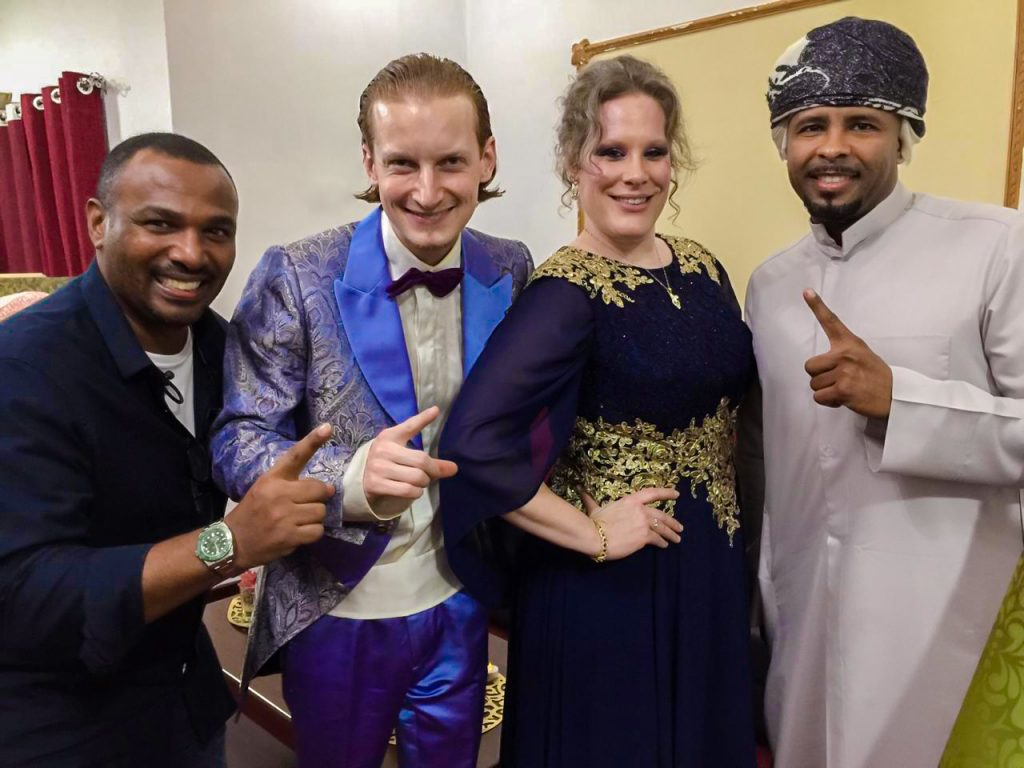 Swiss musicians Dust of Soul meet Kuwaiti Miami Band at Oman Concert Show
