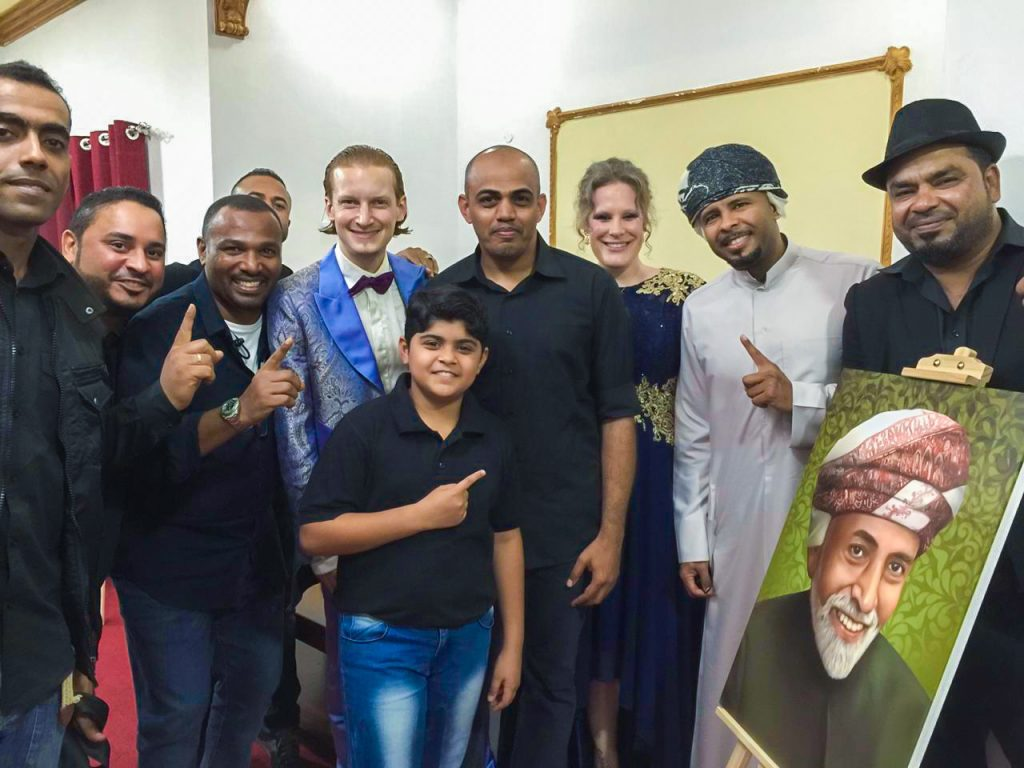 Dust of Soul feat. Lujinia Omani Band with Kuwaiti Miami Band