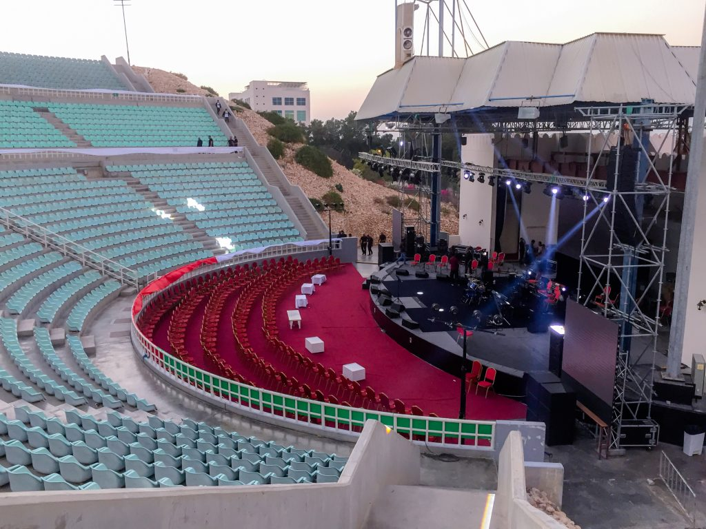 Dust of Soul feat. Lujinia Omani Band at City Amphitheater Qurum Show in Muscat