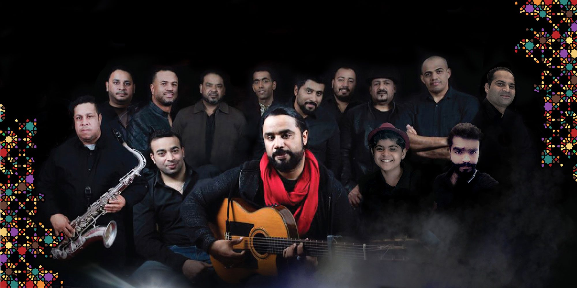 Dust of Soul Oman Amphitheatre Show with Lujinia Omani Band