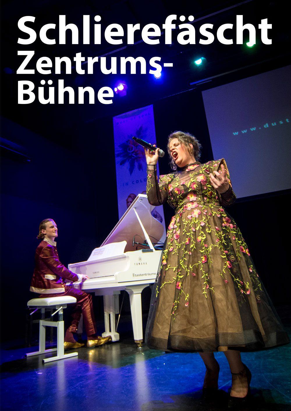 Concert on Zentrumsbühne at Schlierefäscht
