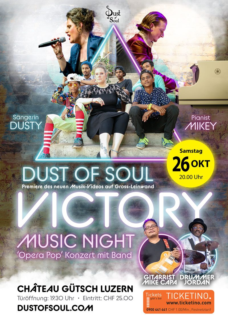 Victory Music Night with Video-Premiere