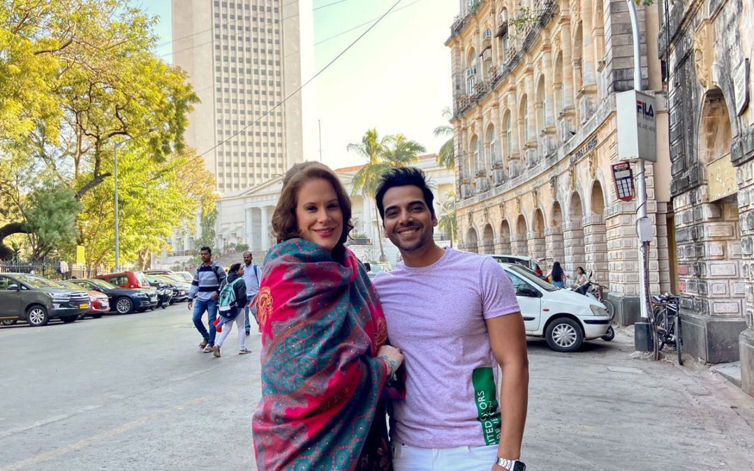 Swiss artists with two Music Video Shootings in Mumbai, India