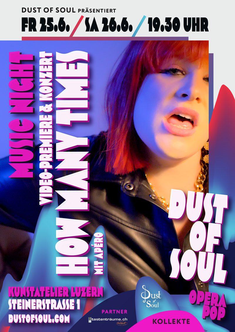 Dust of Soul Music Night